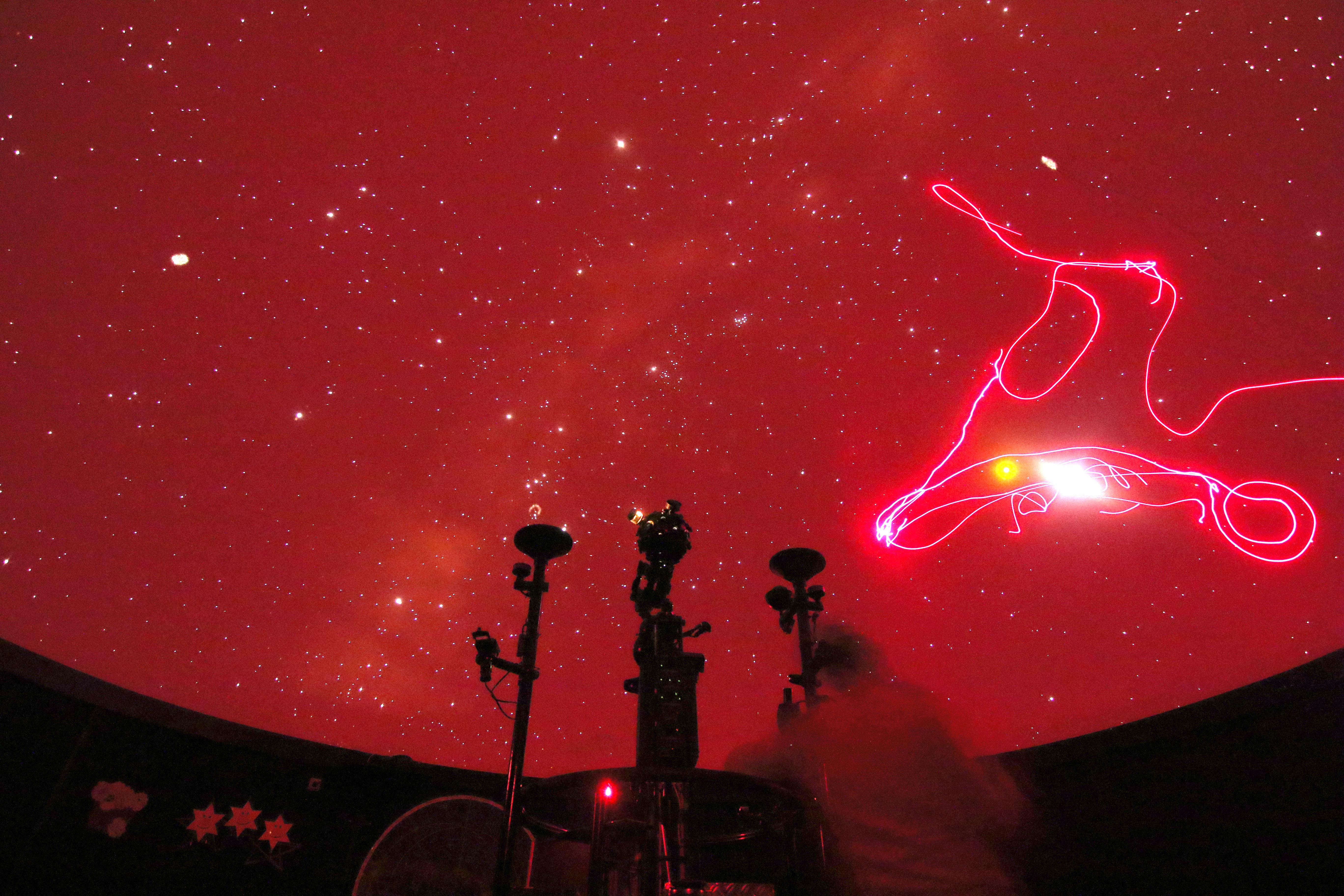 Sternenvorstellung im Harzplanetarium Wernigerode