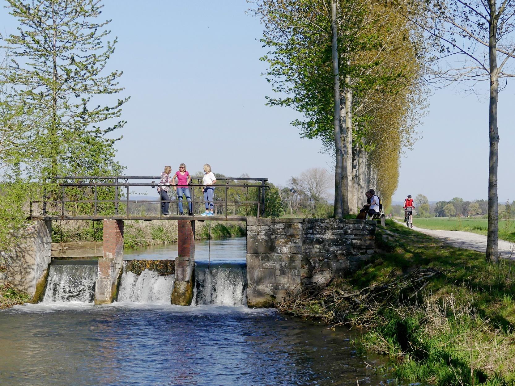 Altes Wehr am Boker Kanal