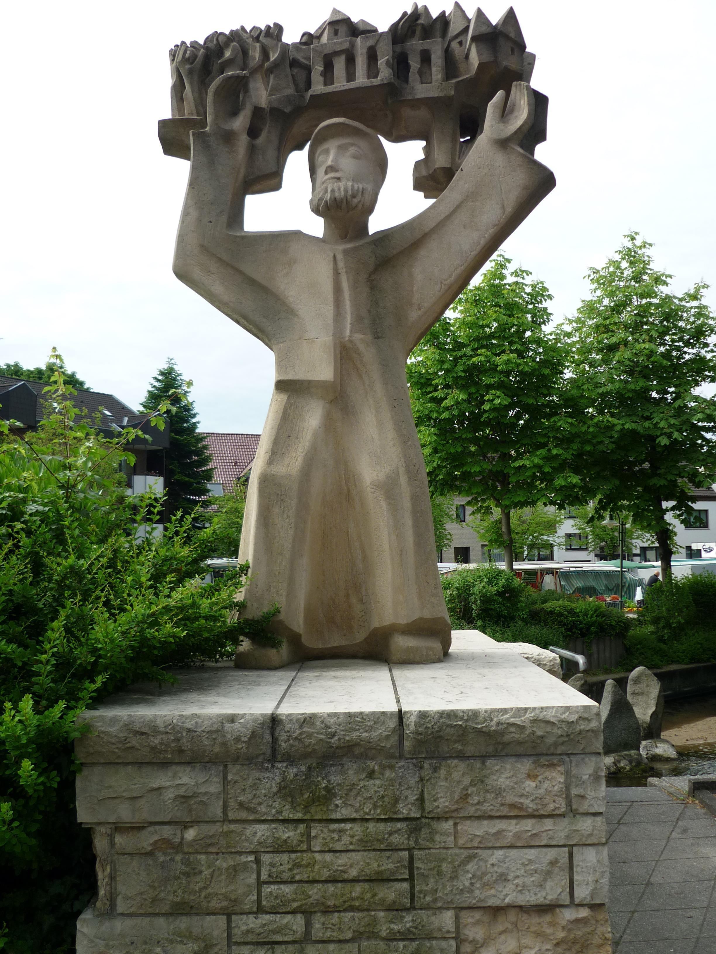 """Denkmal """"Mechanikus"""" Bad Lippspringe"""