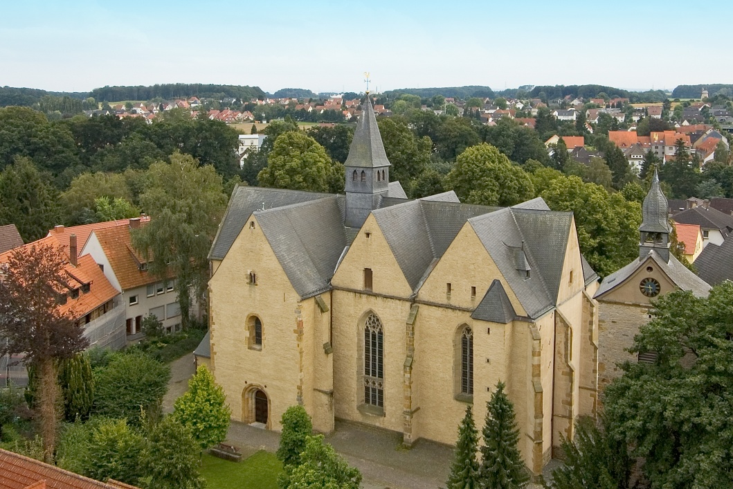 Stiftskirche in der Widukindstadt Enger, Foto: Harald Wurm