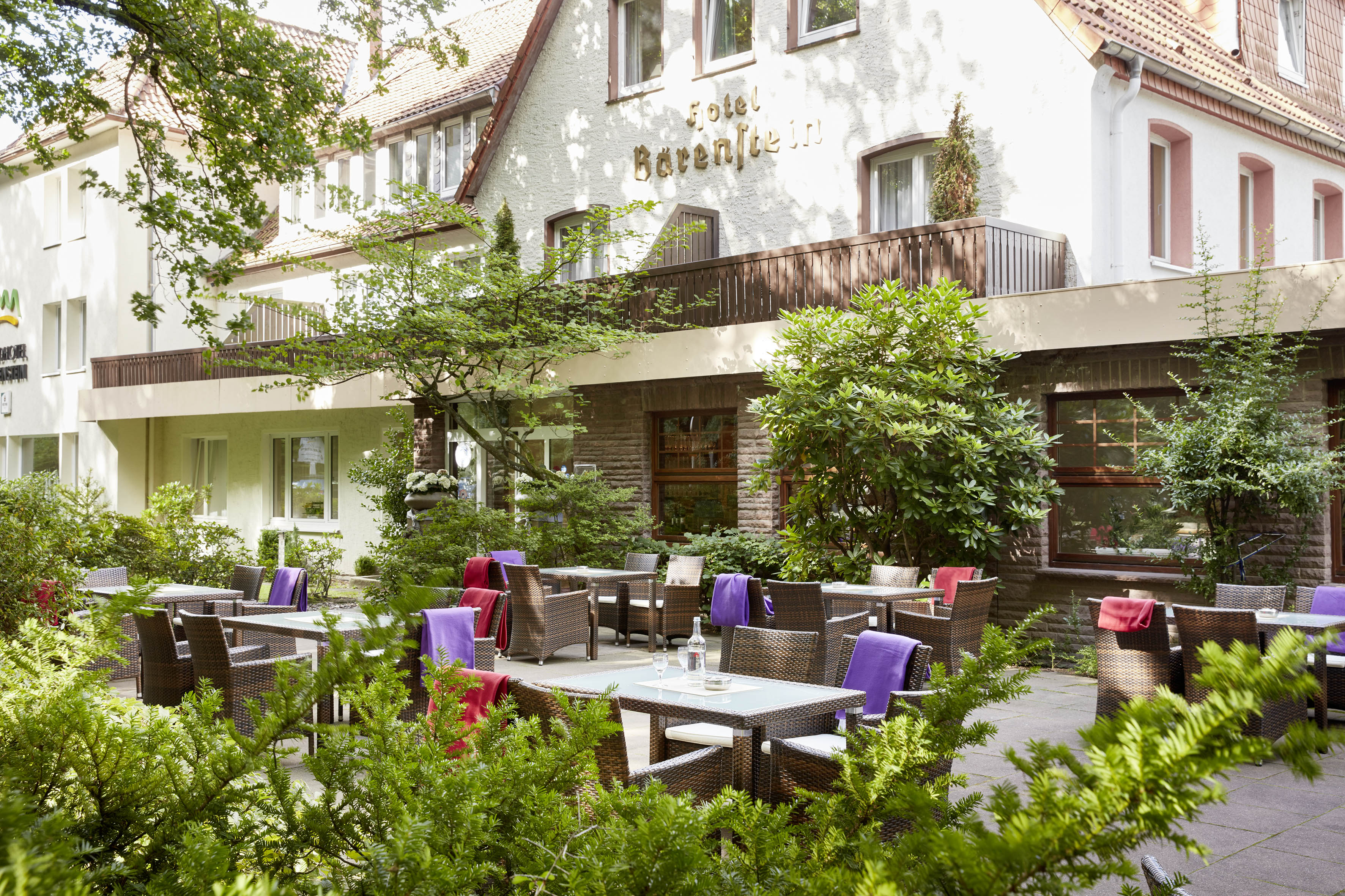 Hotel Bärenstein - Tereasse