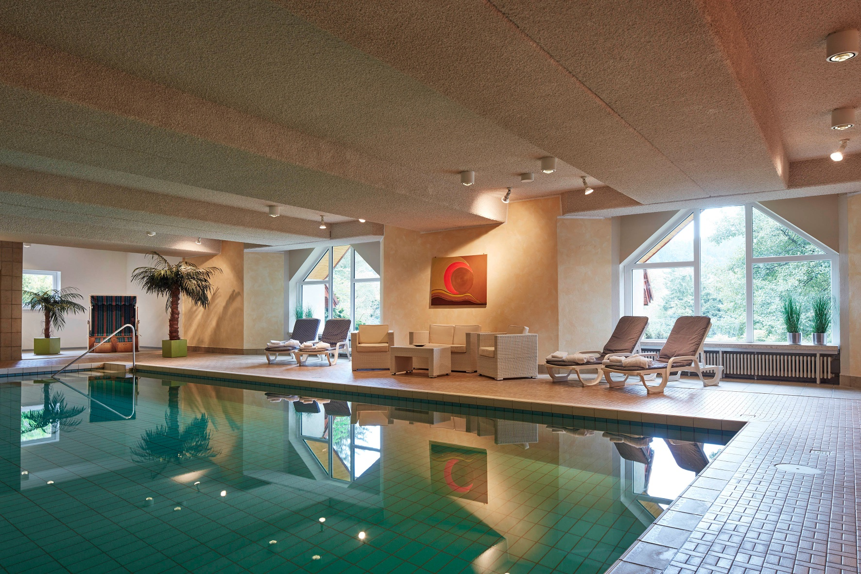 Hotel Bärenstein - Schwimmbad