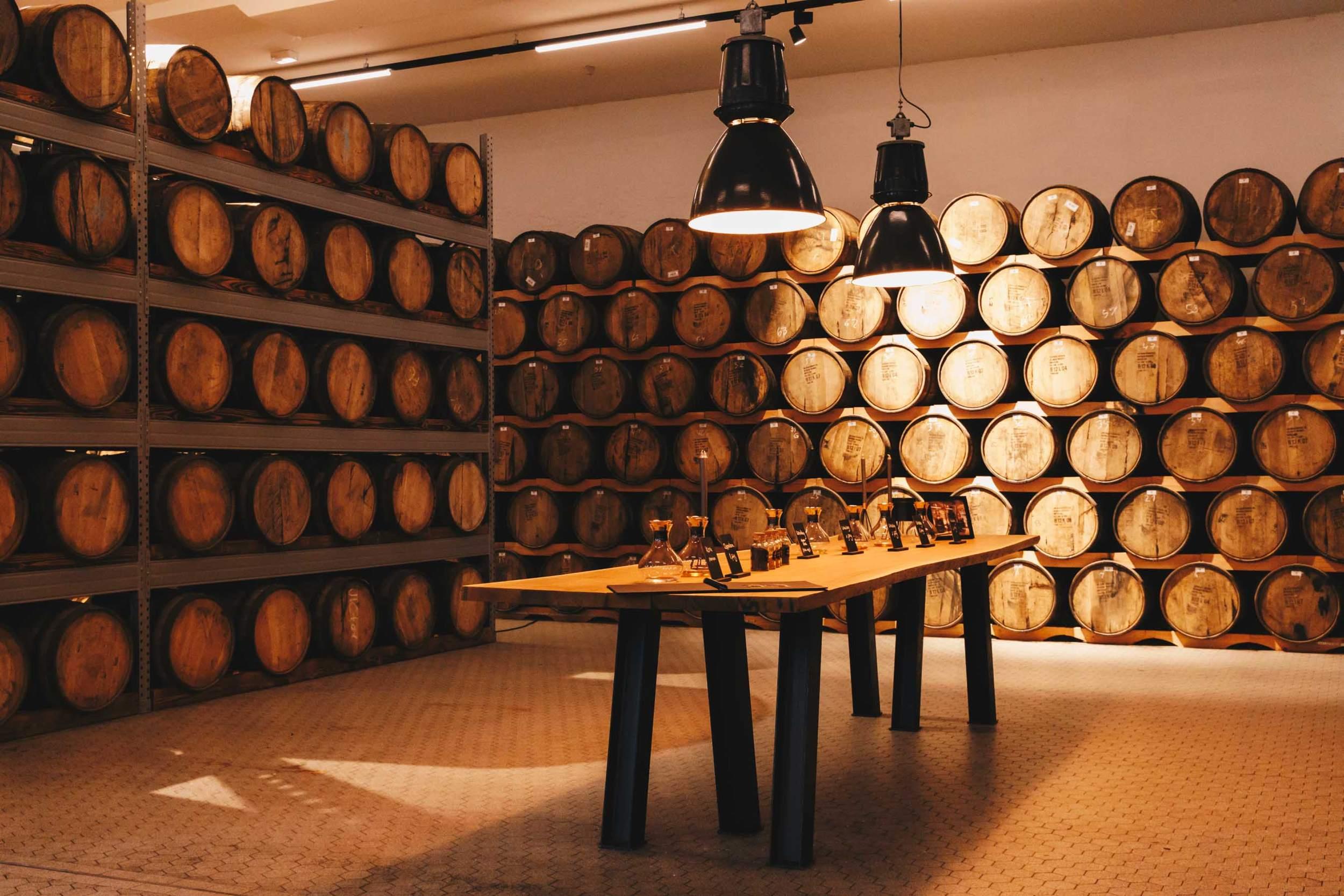Hardenberg Distillery in Nörten Hardenberg - Tours Room