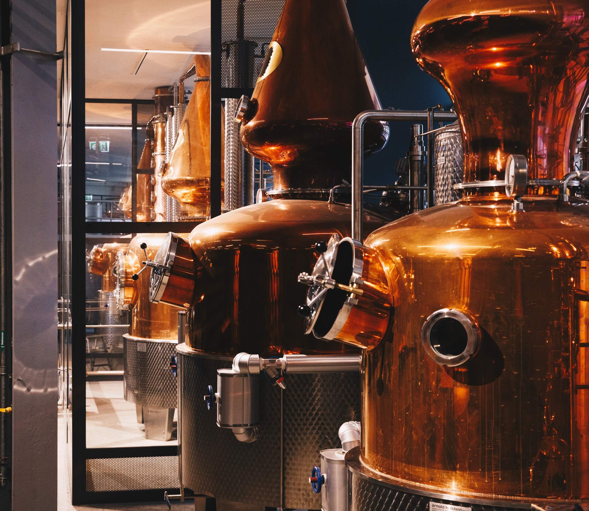 Hardenberg Distillery in Nörten Hardenberg - Brennblase