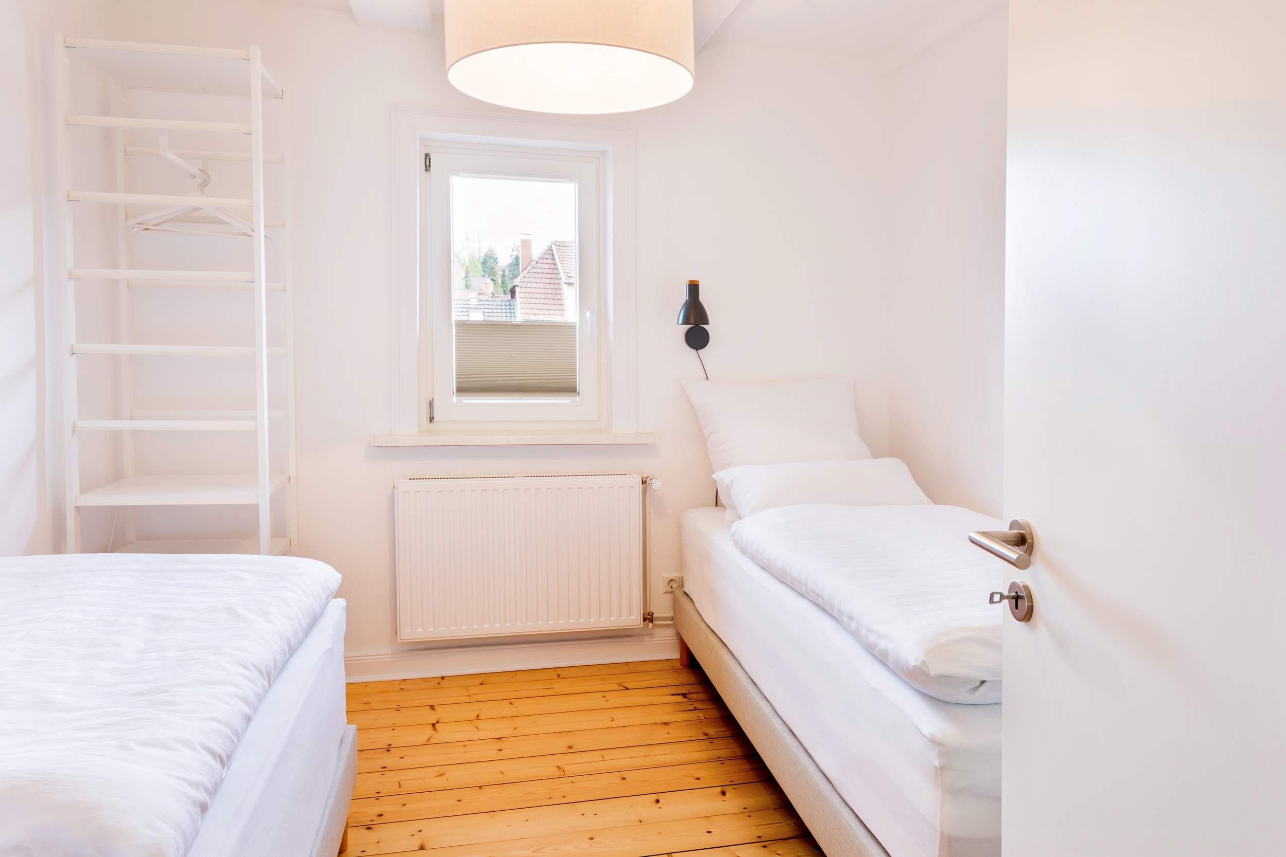 Ferienwohnung Bad Sachsa Harz - Schlafzimmer mit Einzelbetten