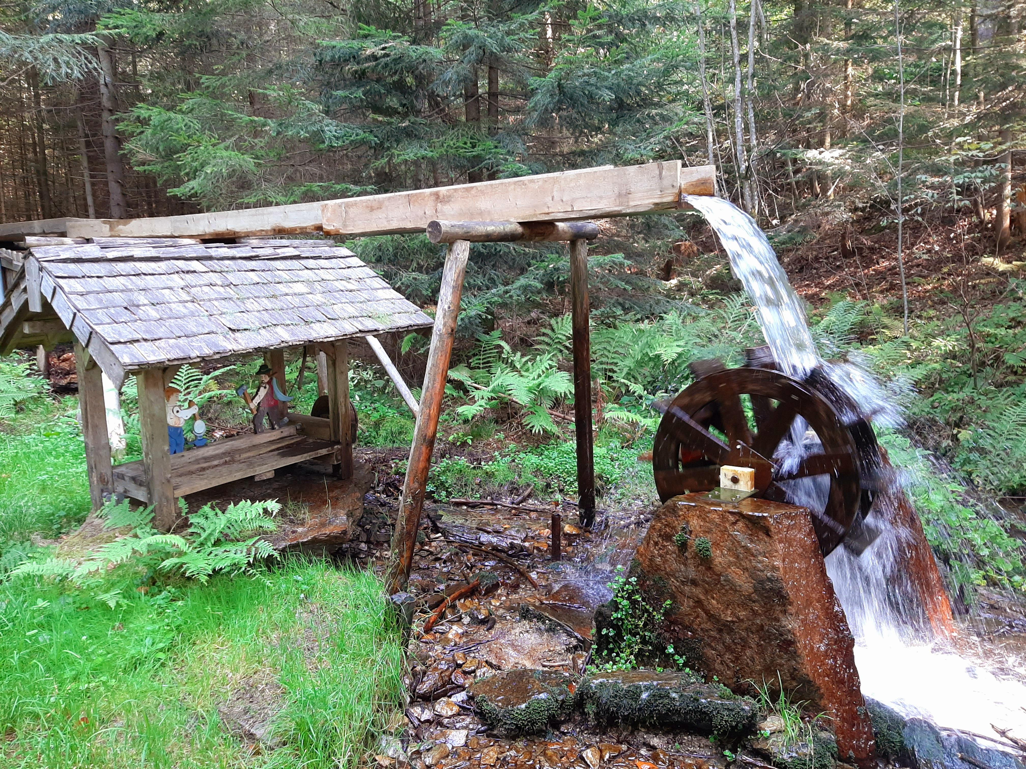 Wasserrad Lambach