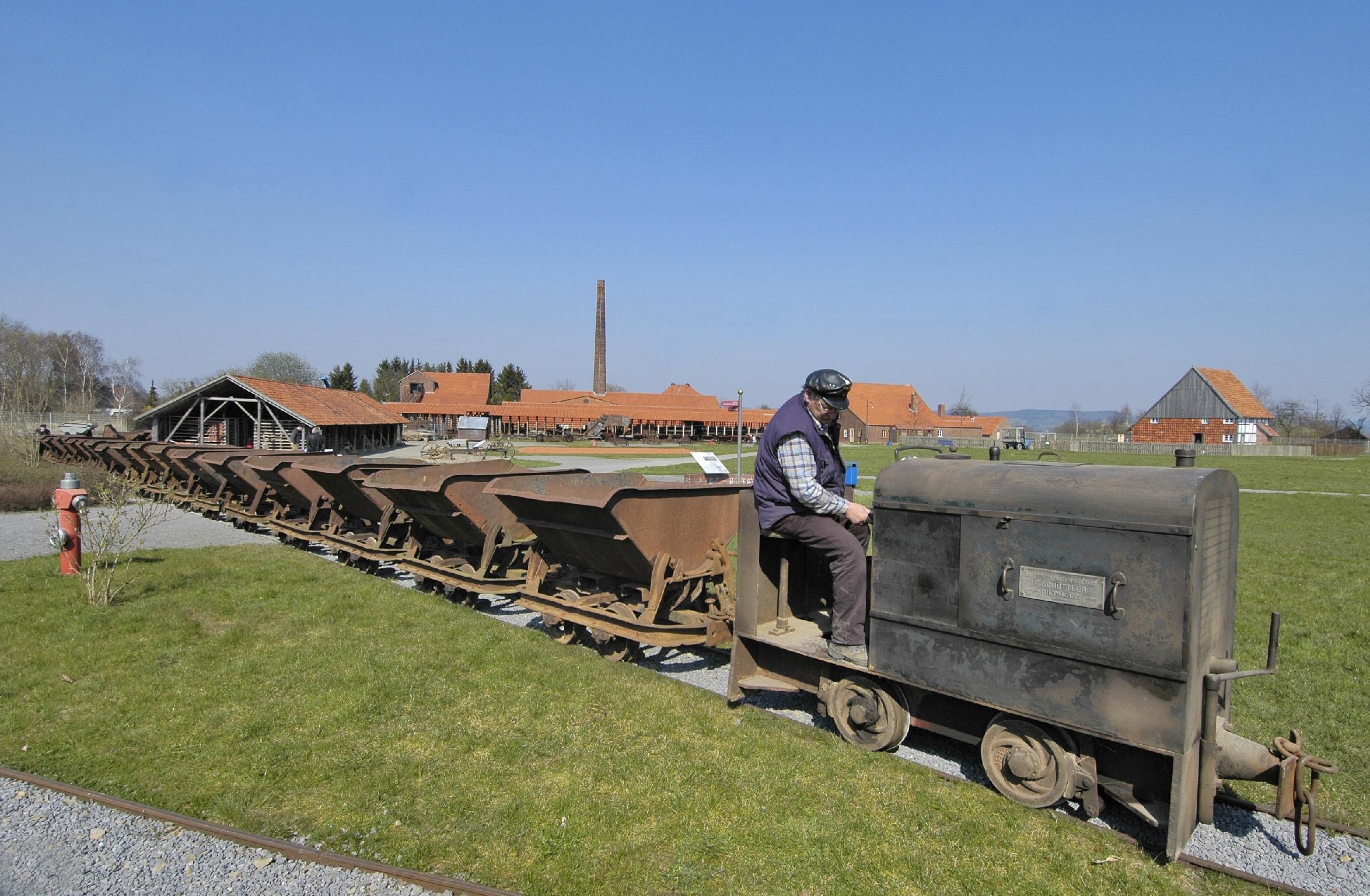 LWL-Industriemuseum Lage: Lehmtransport