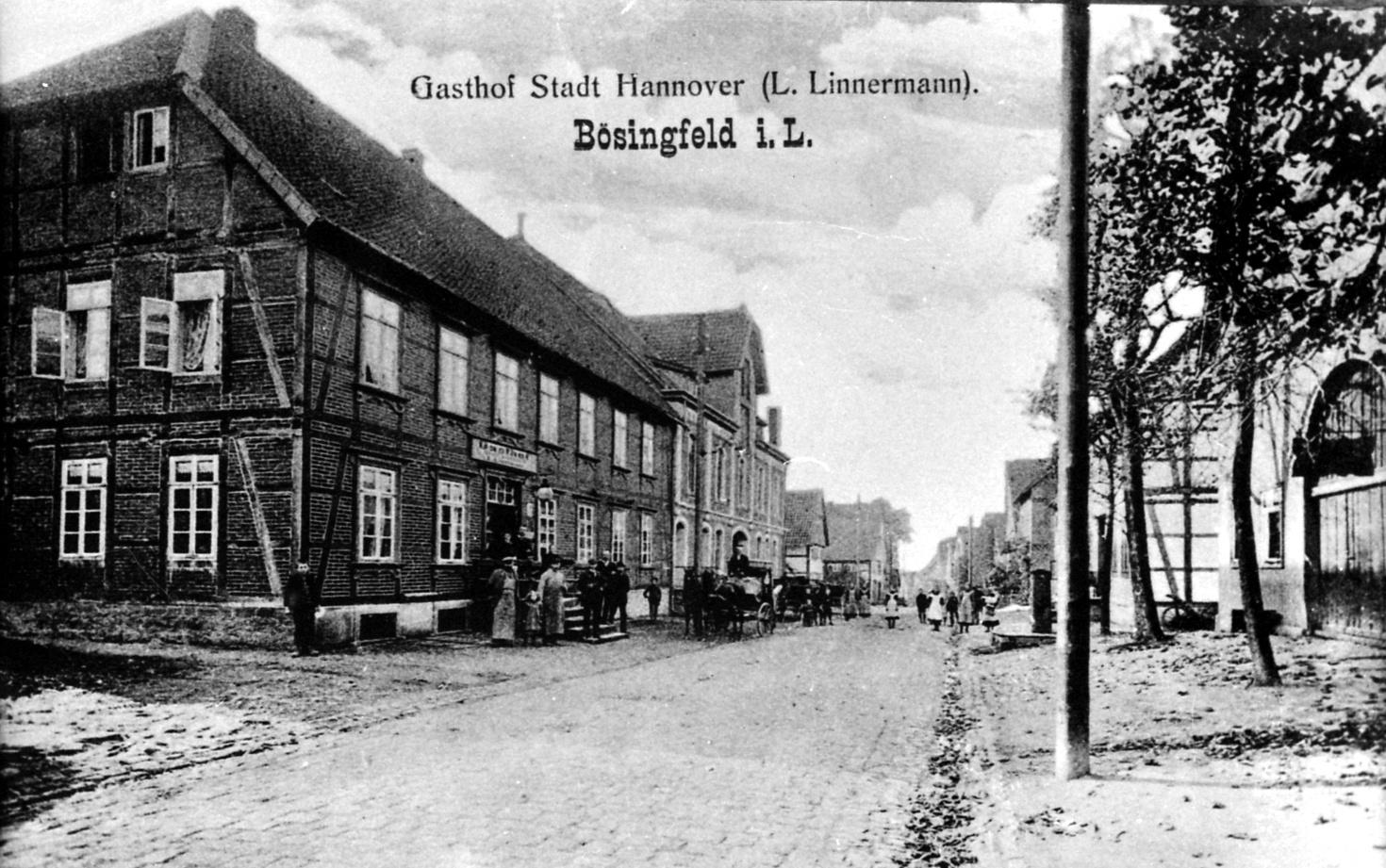 Bösingfelder Brunnen 1910