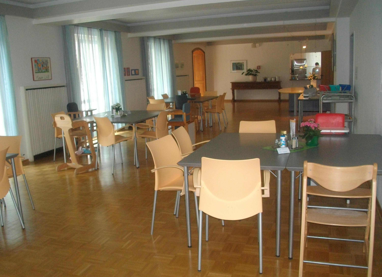 Mutter-Kind Kurhaus, Speisesaal