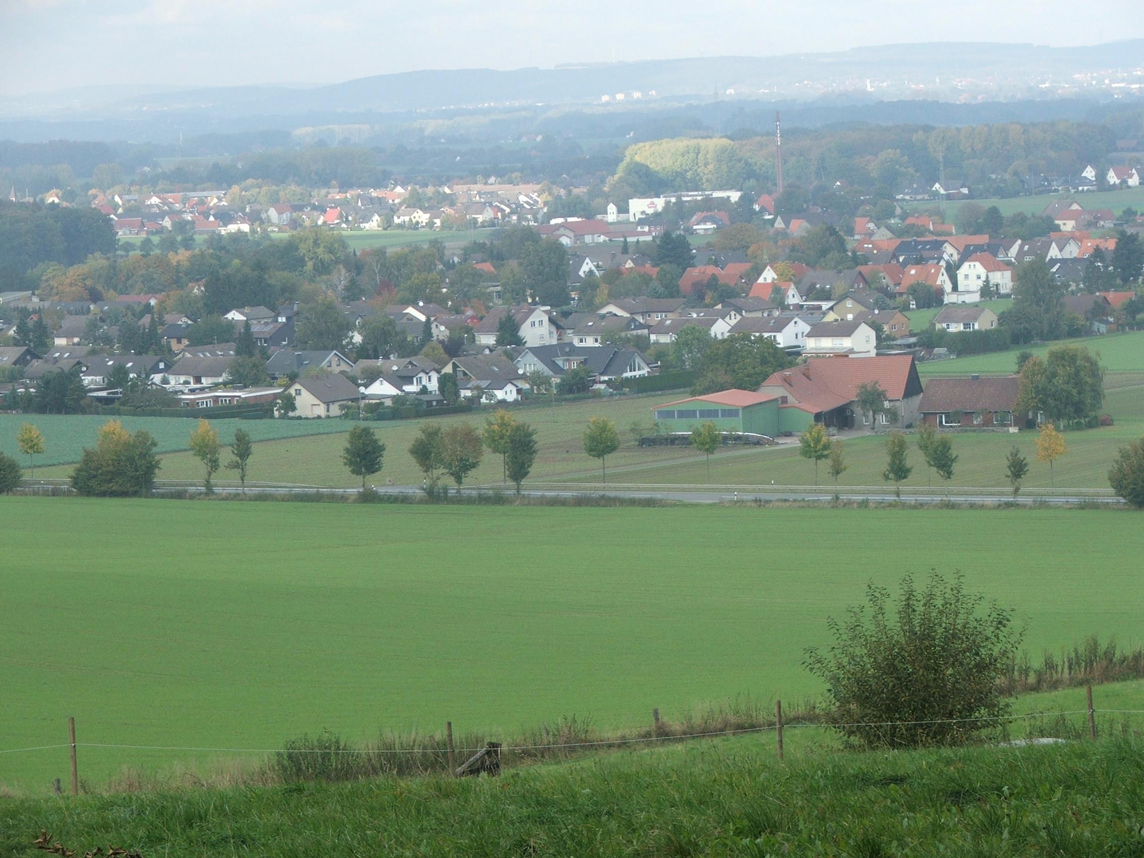 Blick nach Billinghausen