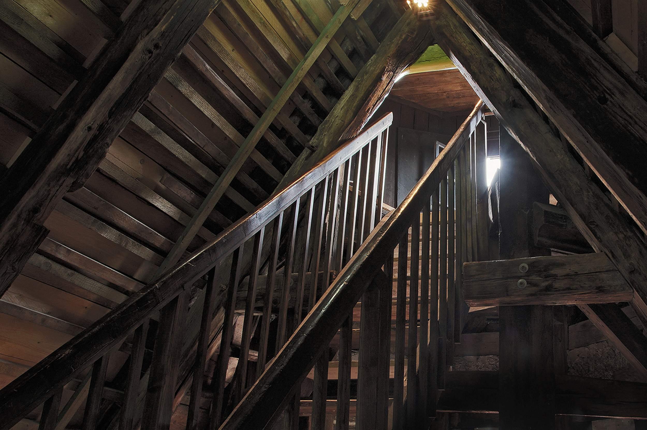 Duderstadt - Das Duderstädter Rathaus - Der Rundgang führt bis hoch in den Turm über die Dächer der Stadt