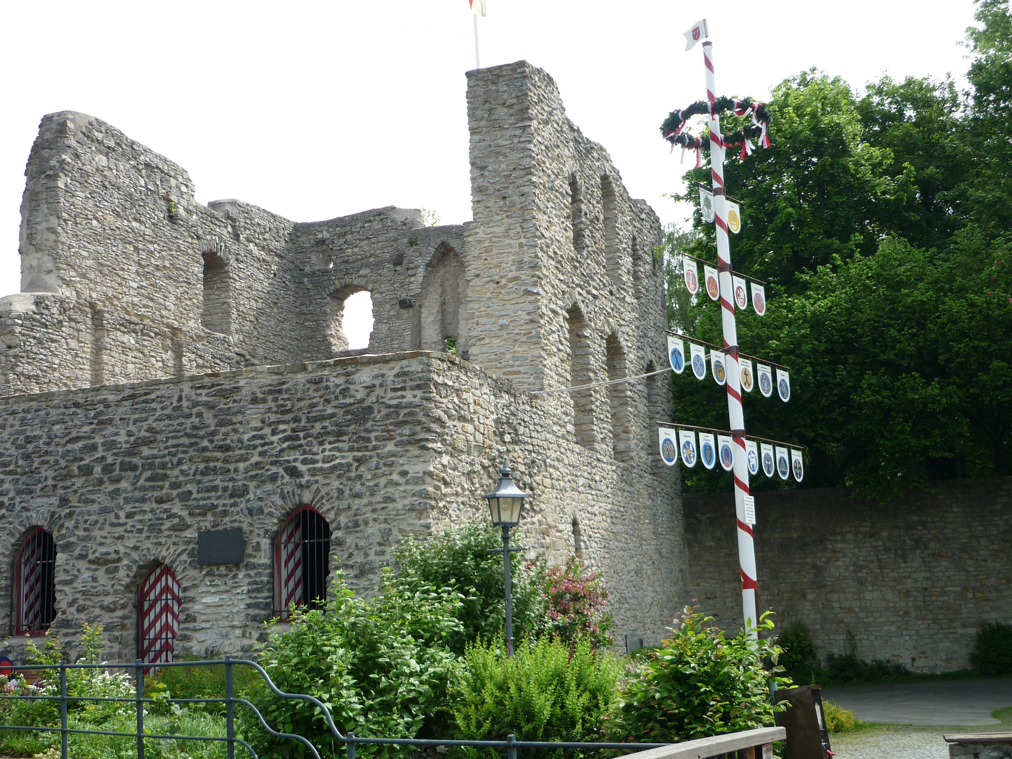Burgruine Bad Lippspringe