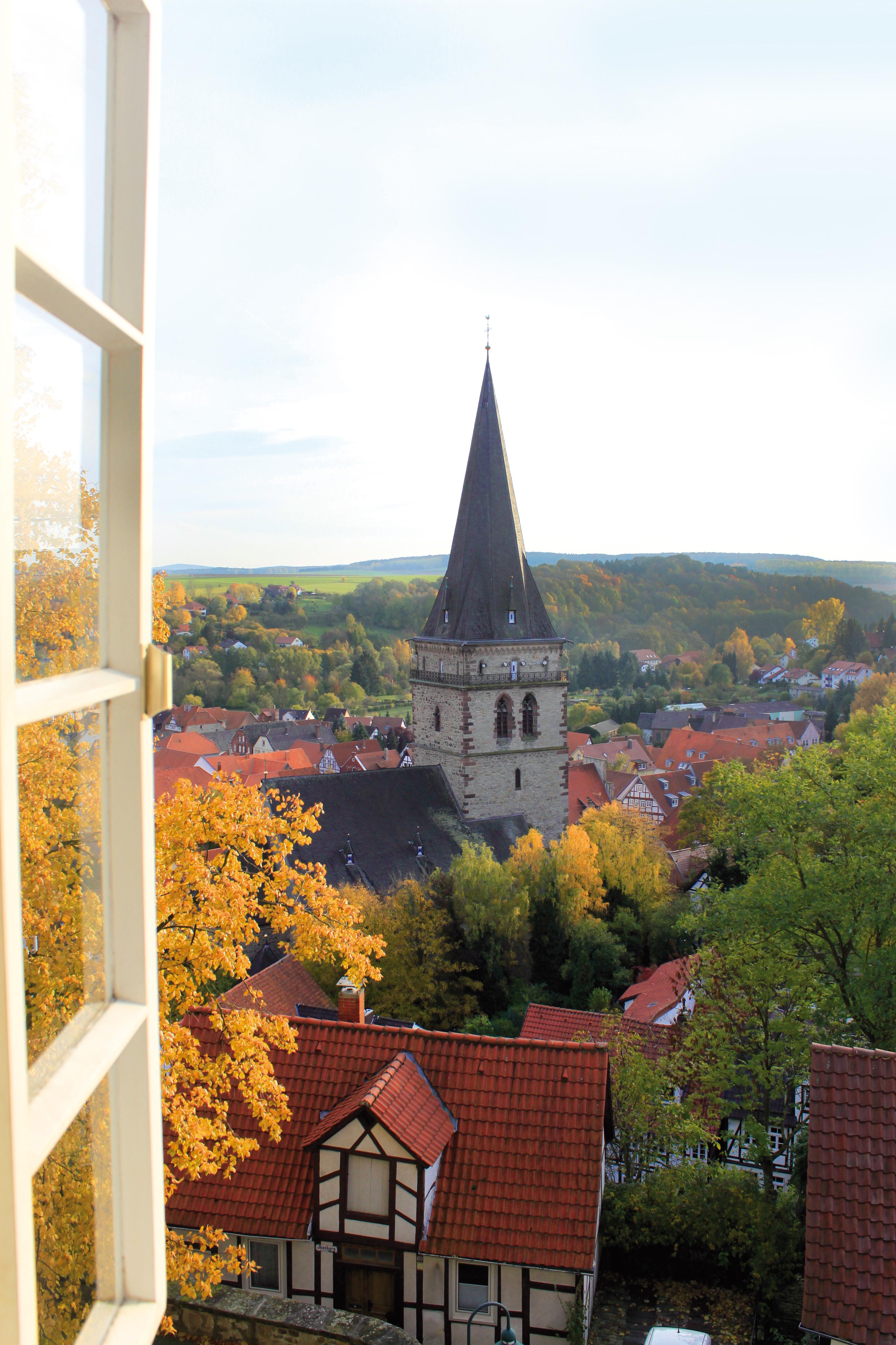 Blick auf die Altstadt Warburg