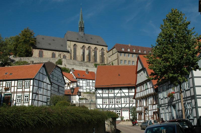 Warburger Altstadt Klosterkirche