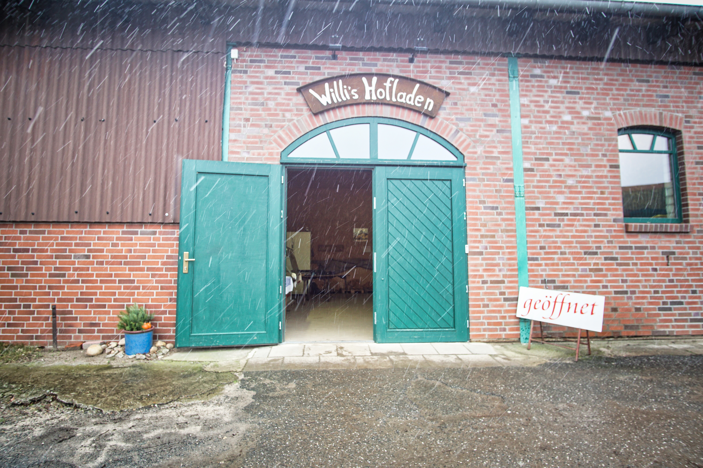 Eingangsbereich Willis Hofladen