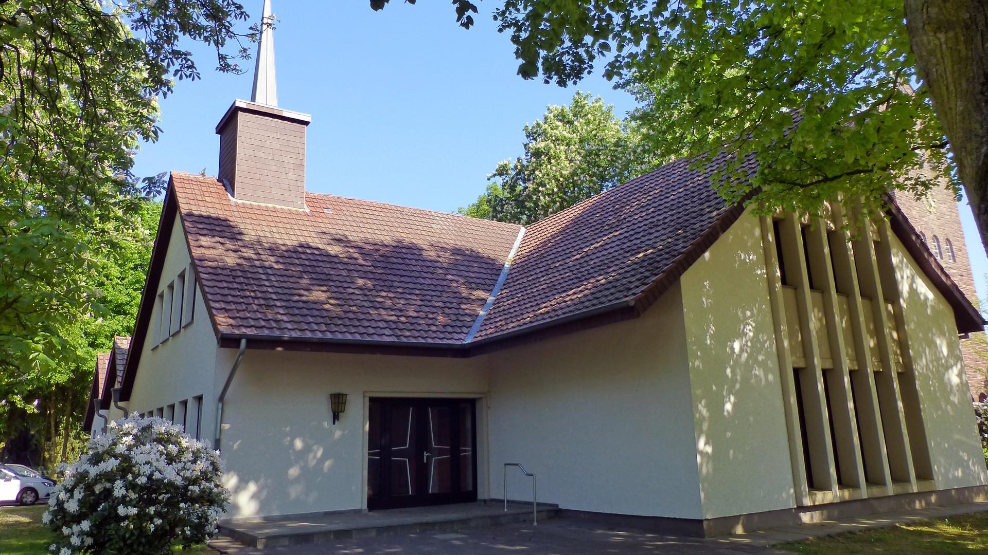 Die ehemalige Notkirche Siemshof