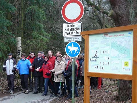 Nordic Walking Route Hörste