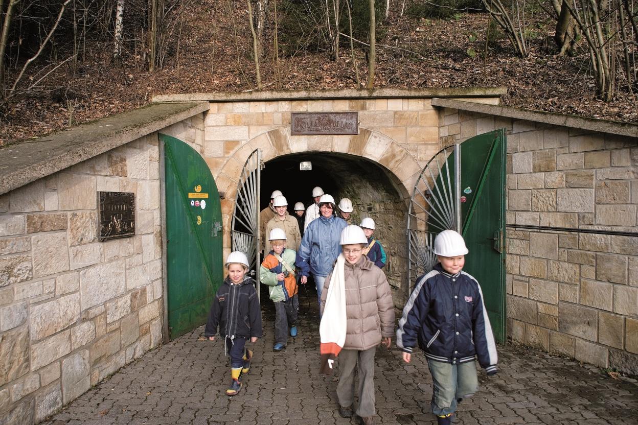 Besucherbergwerk Kilianstollen in Marsberg