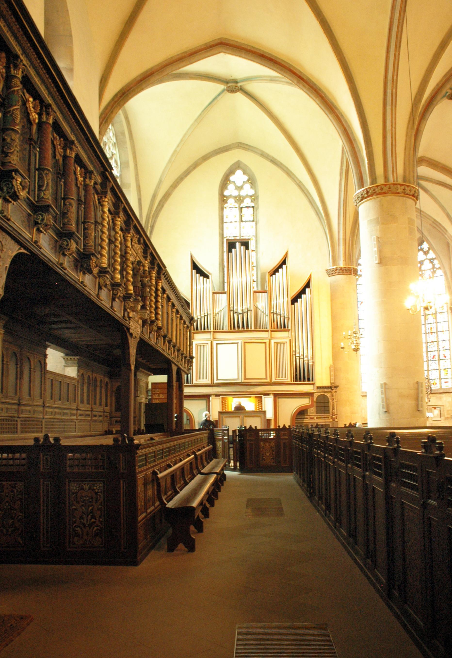 St. Johannis Herford, Innenansicht