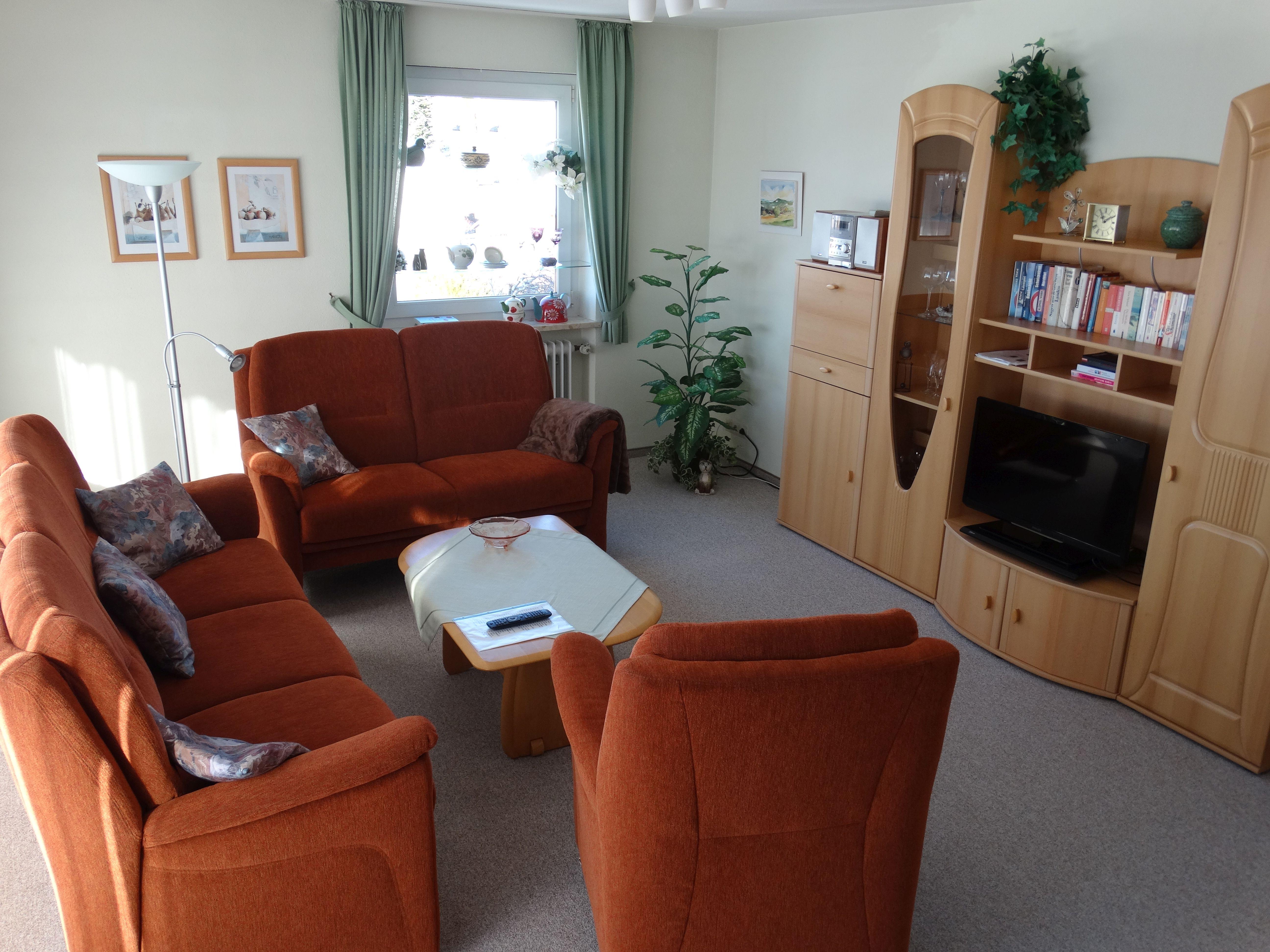 Ferienwohnung Hoffmann, Wohnzimmer
