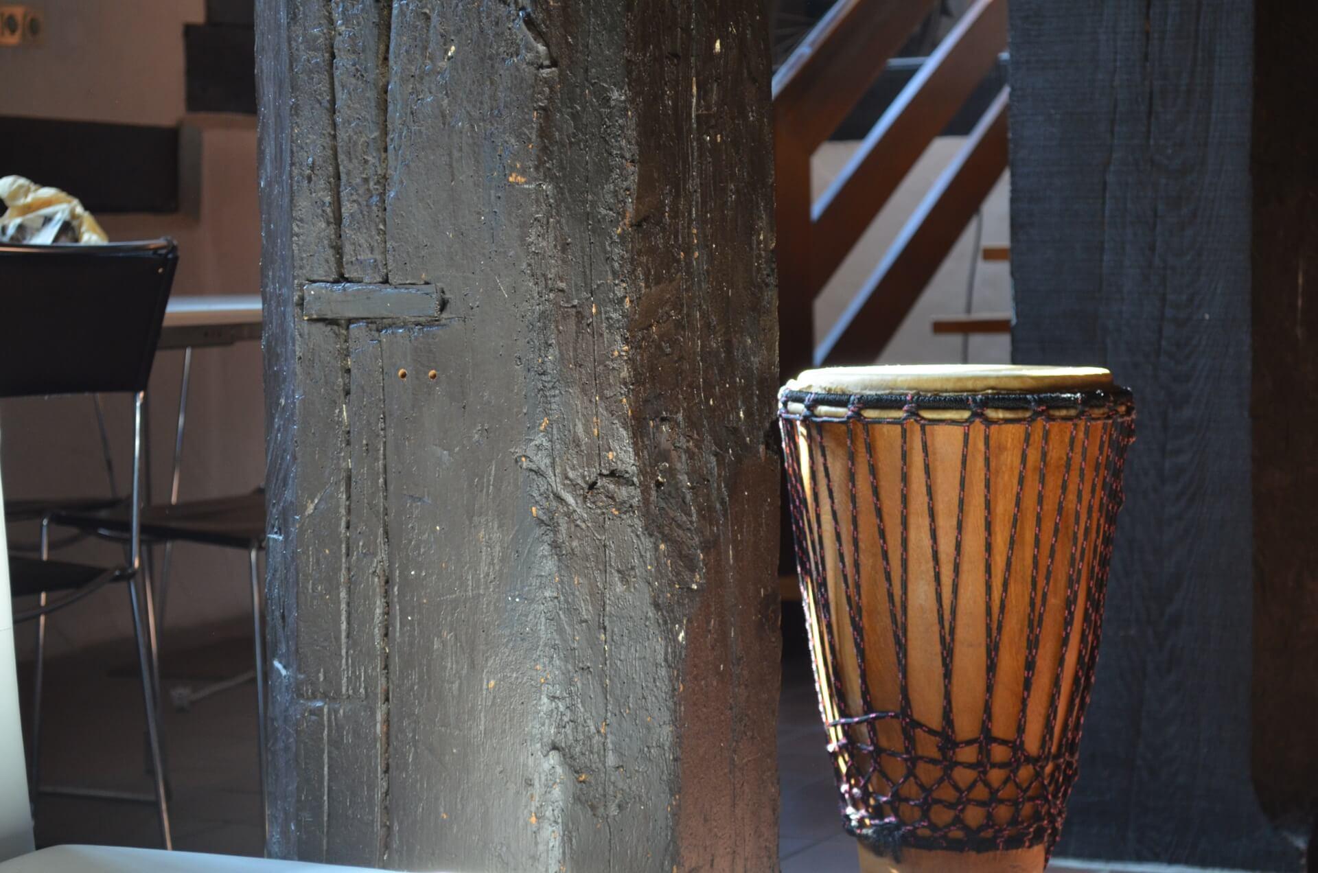 Trommel, Historischer Ochsenkopf