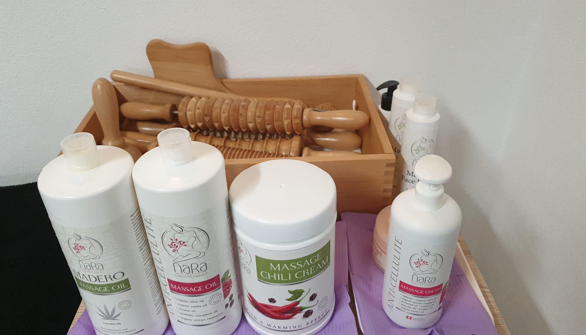 Produkte im Wohlfühlstübli