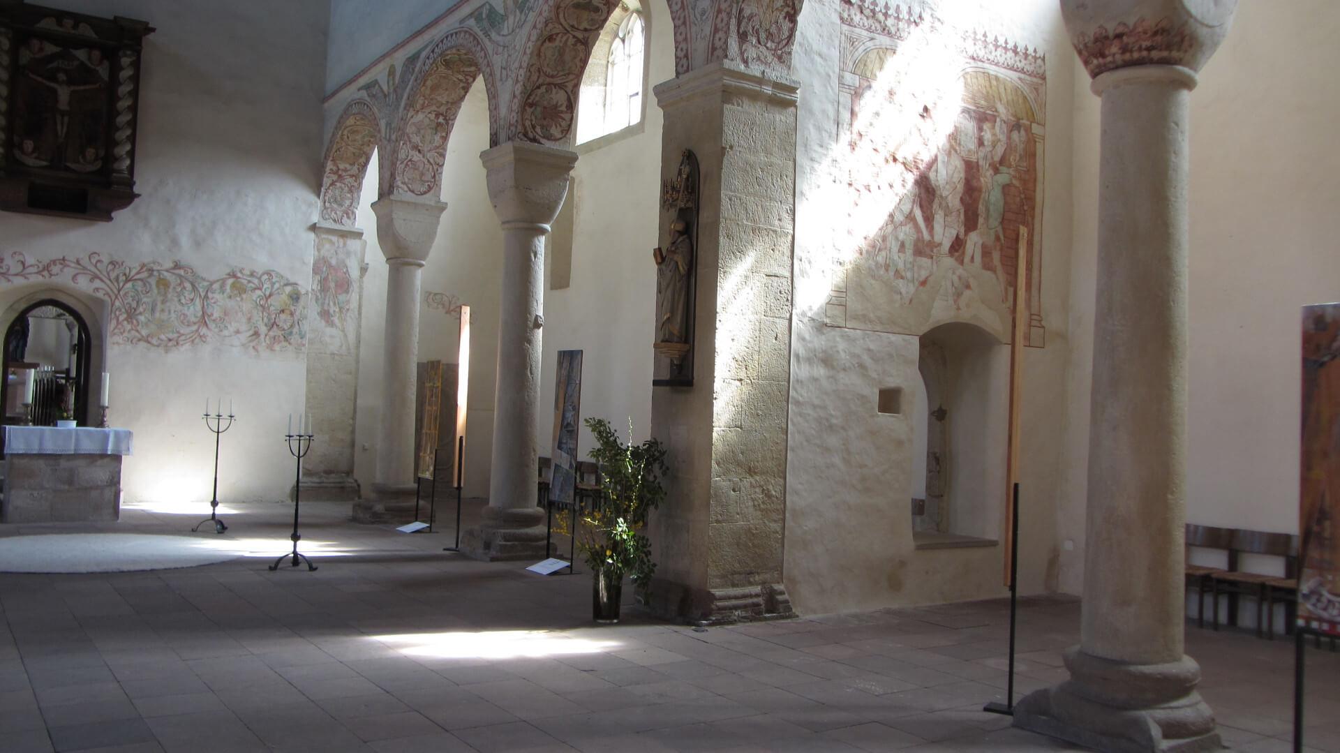 Kloster Bursfelde, Innenansicht