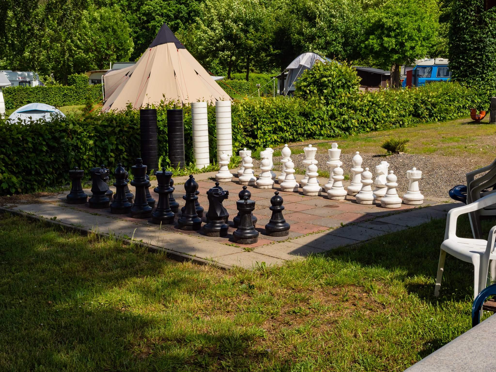 Campingplatz am Krähenberg in Wolfshagen - Schachspiel