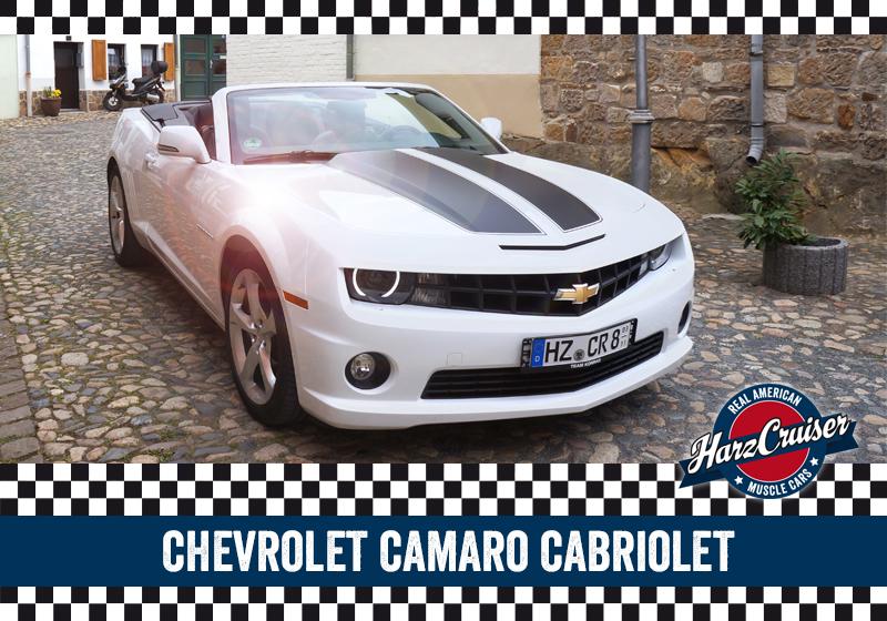 HarzCruiser in Thale - Fahrzeug Camaro Cabriolet