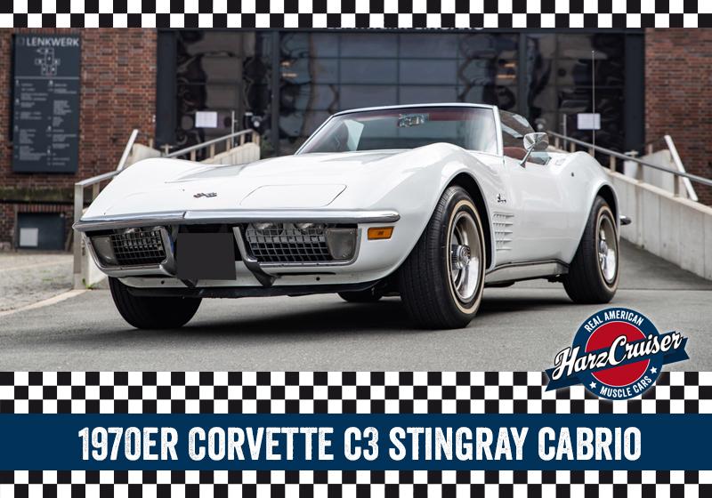 HarzCruiser in Thale - Fahrzeut Corvette