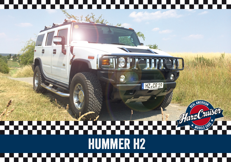 HarzCruiser Thale - Fahrzeug Hummer H2