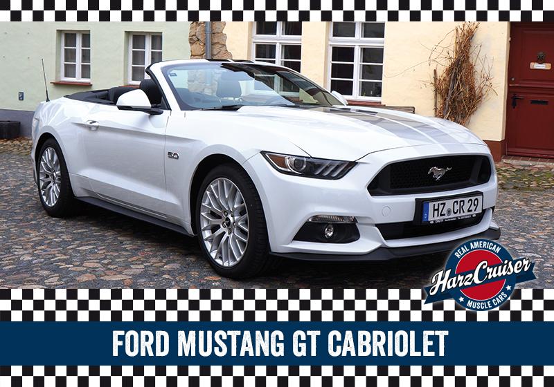 HarzCruiser Thale - Fahrzeug Mustang GT Cabrio