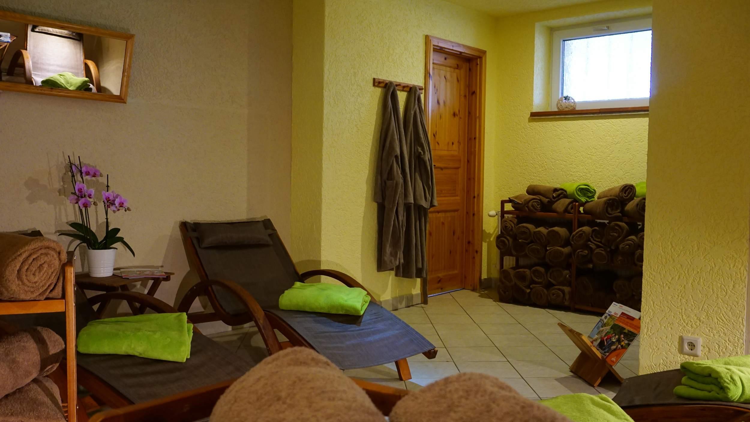 waldhotel AUSZEIT in Tanne - Ruheraum