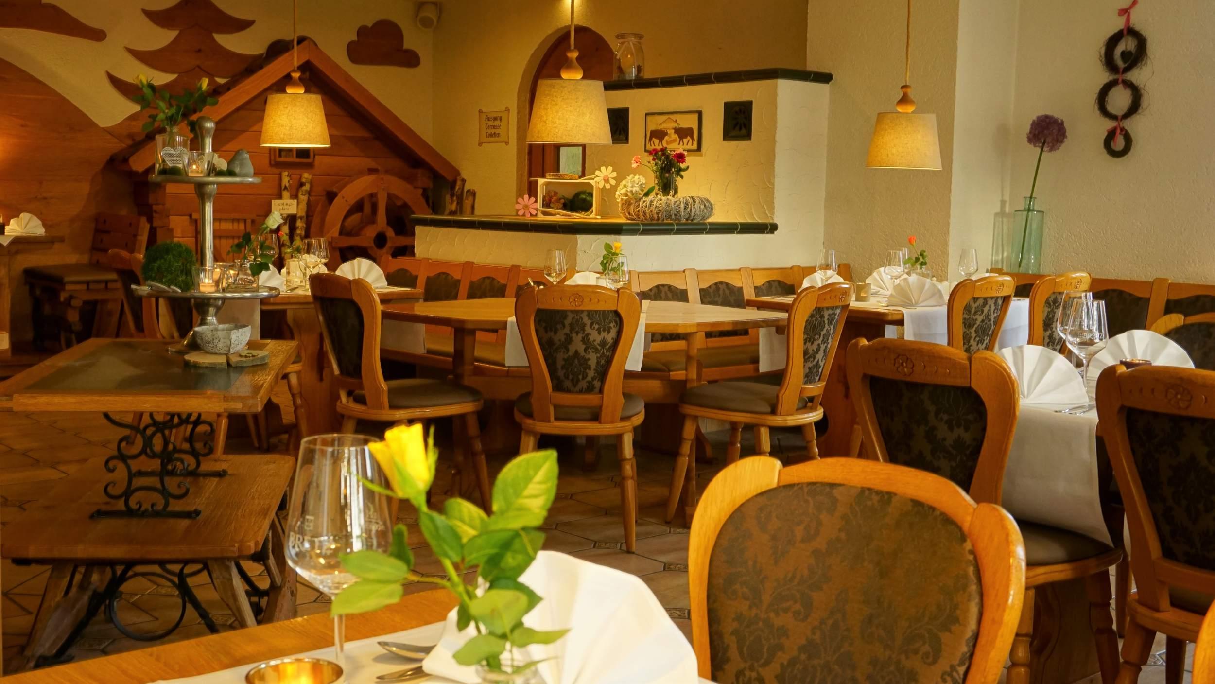waldhotel AUSZEIT in Tanne - Restaurant