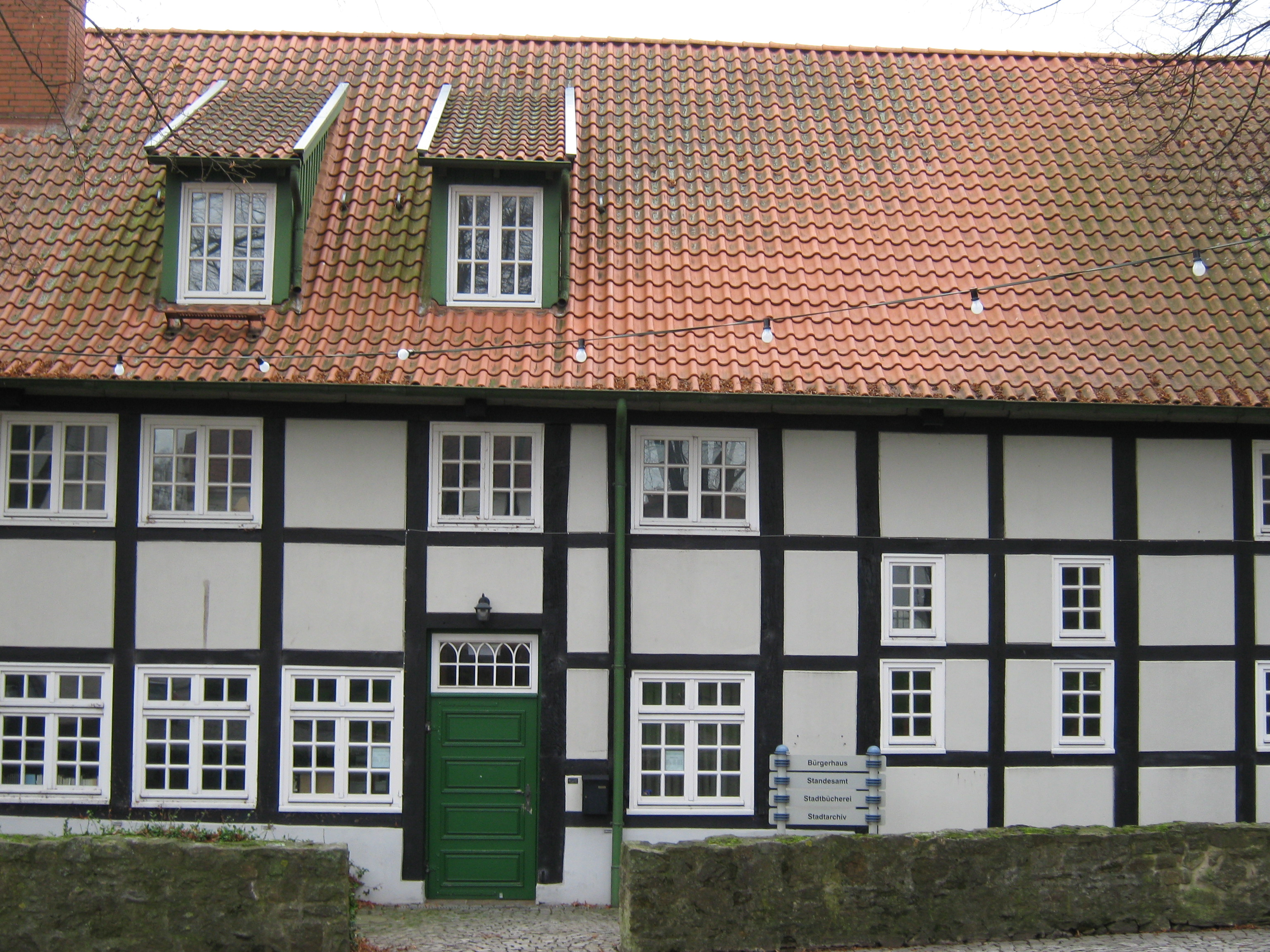 Stadtbücherei in Preußisch Oldendorf