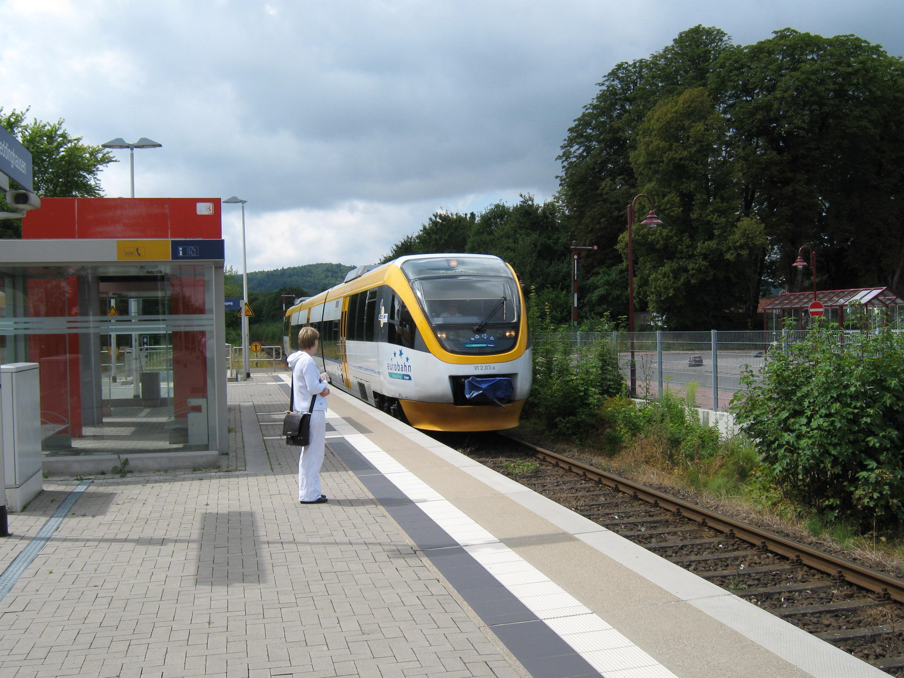 Die Eurobahn verkehrt zwischen Rahden - Bielefeld - Lemgo