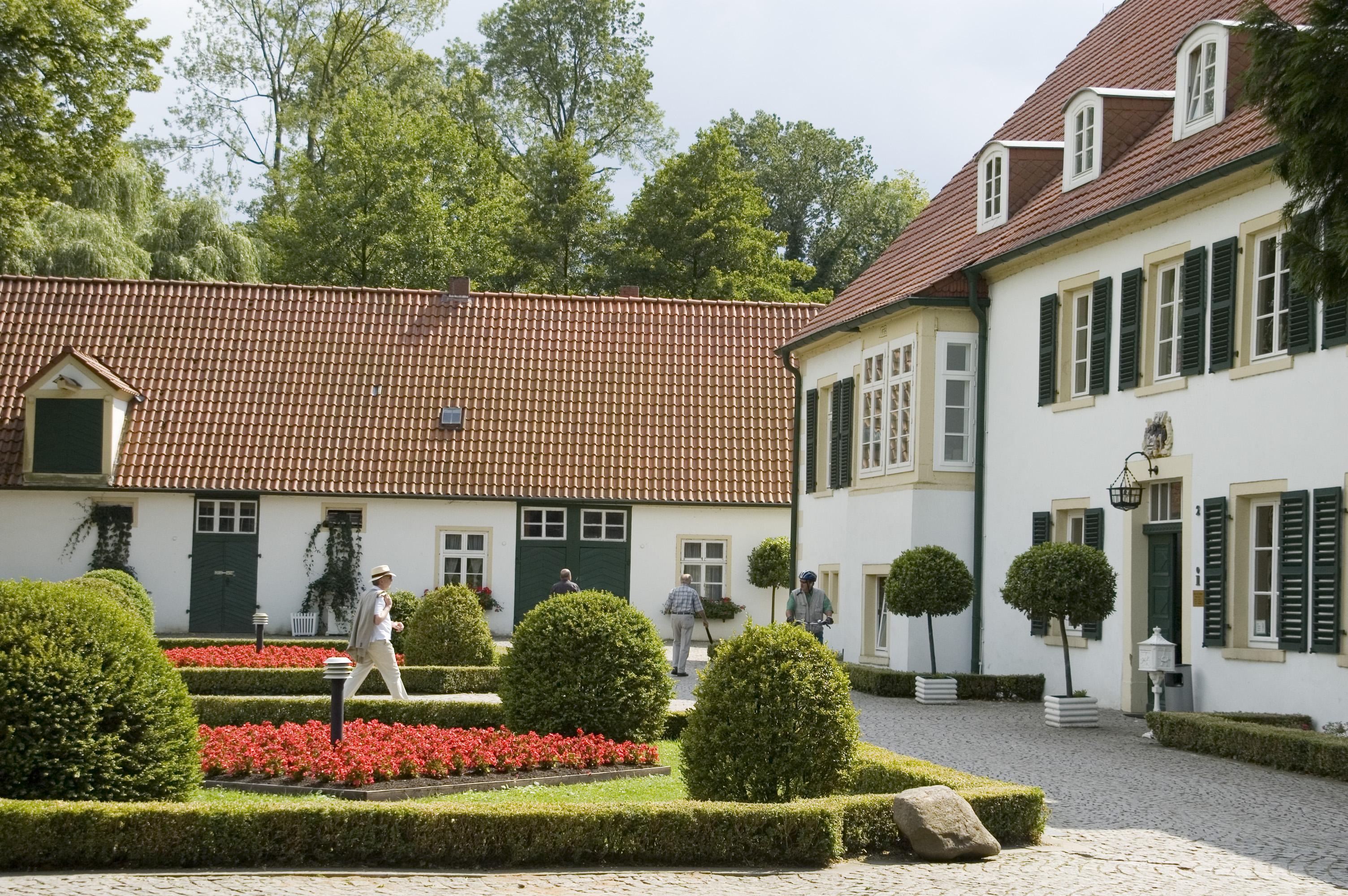 Haus des Gastes im Sommer