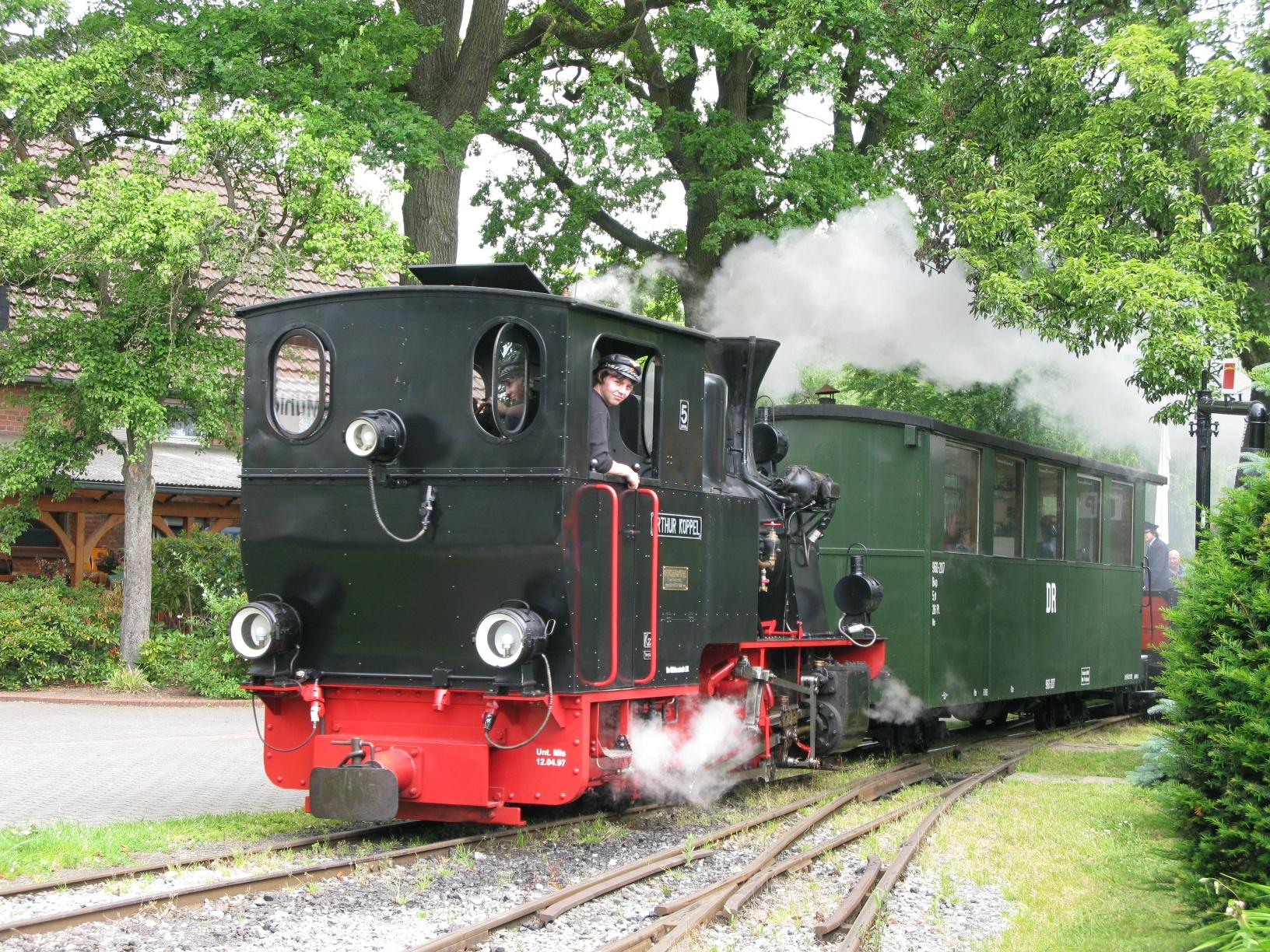 Dampfkleinbahn Mühlenstroth