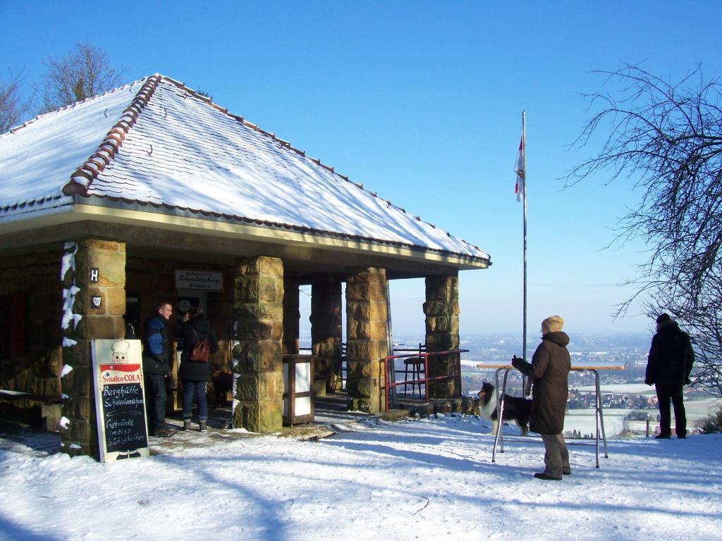 Schwedenschanze im Winter