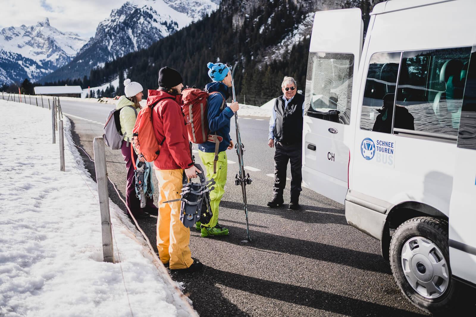 Alle Gäste sind wohlbehalten von der Skitour zurückgekehrt
