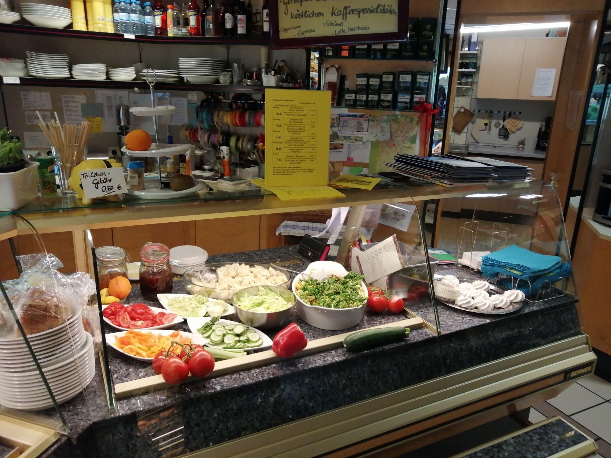 Mittagstisch Mittagstisch im Cafe Große-Rechtien in Bad Iburg