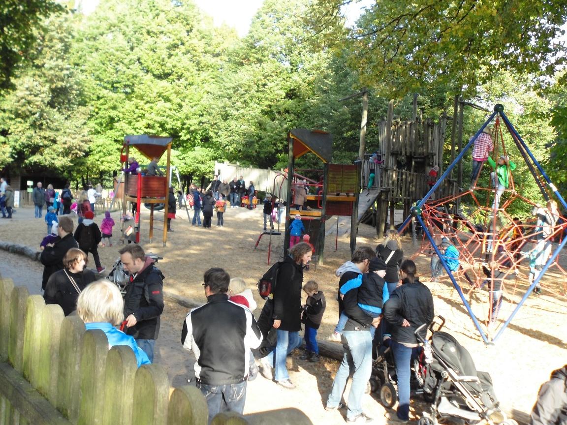 Tierpark Olderdissen, Bielefeld - Spielplatz