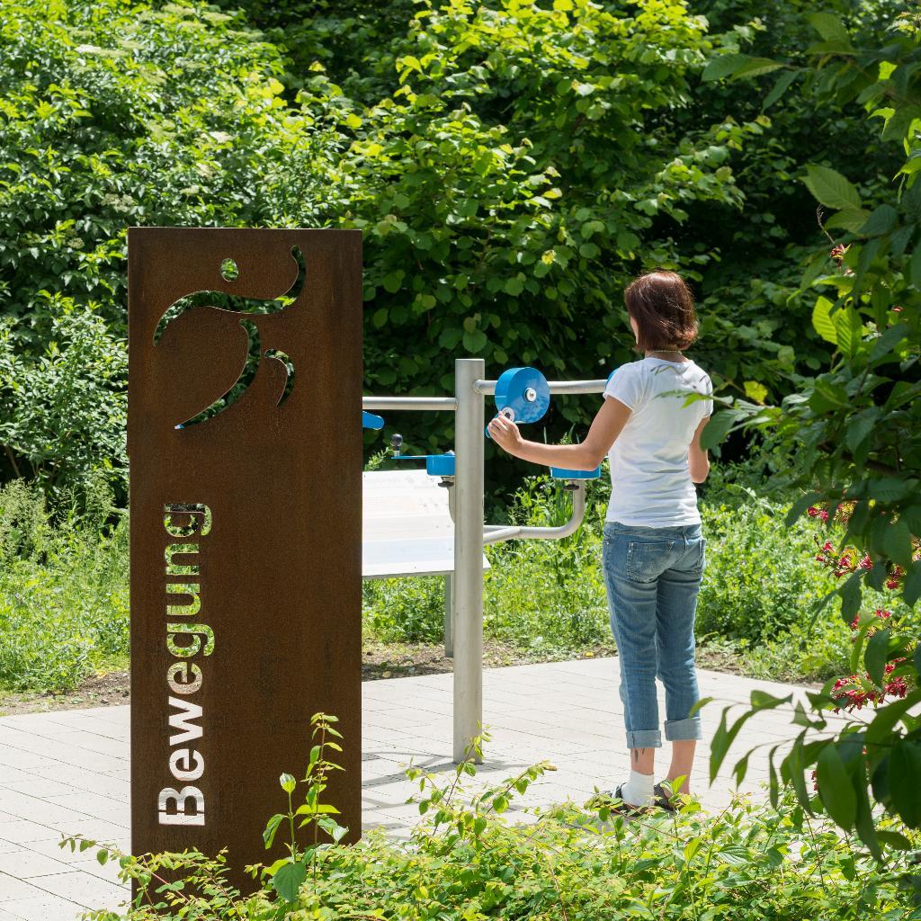 Bewegungsparcours im Kurpark Bad Wünnenberg
