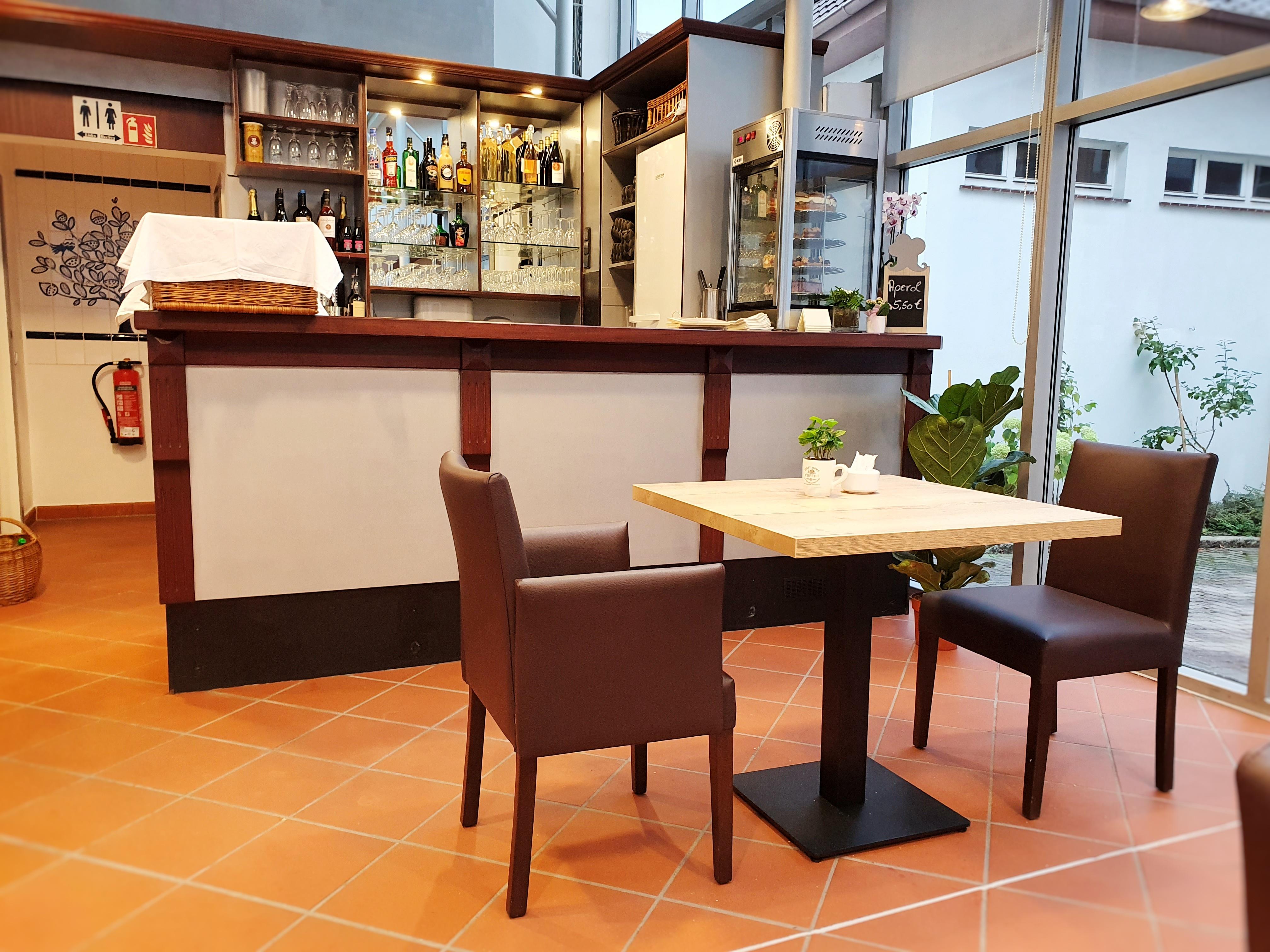 Café in der kleinen Gasse_Theke