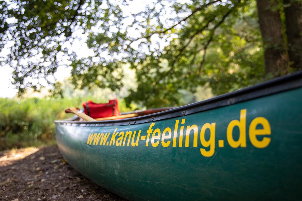 Kanu-Feeling auf der Örtze