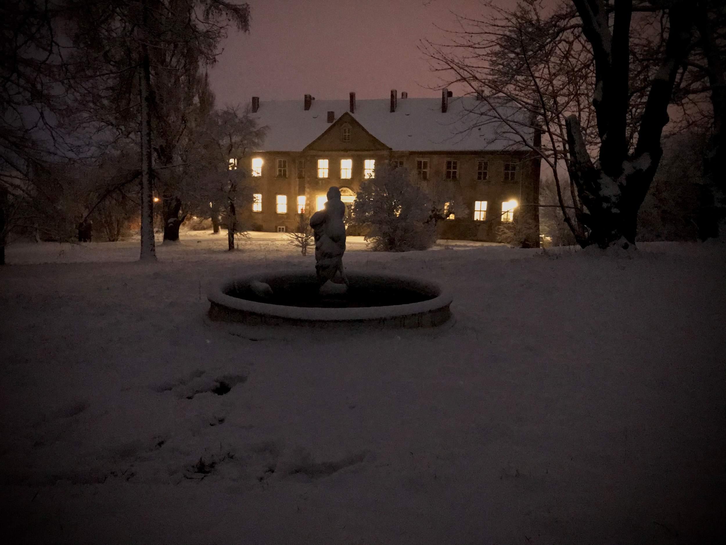 Rittergut Cattenstedt im winterlichen Zauber