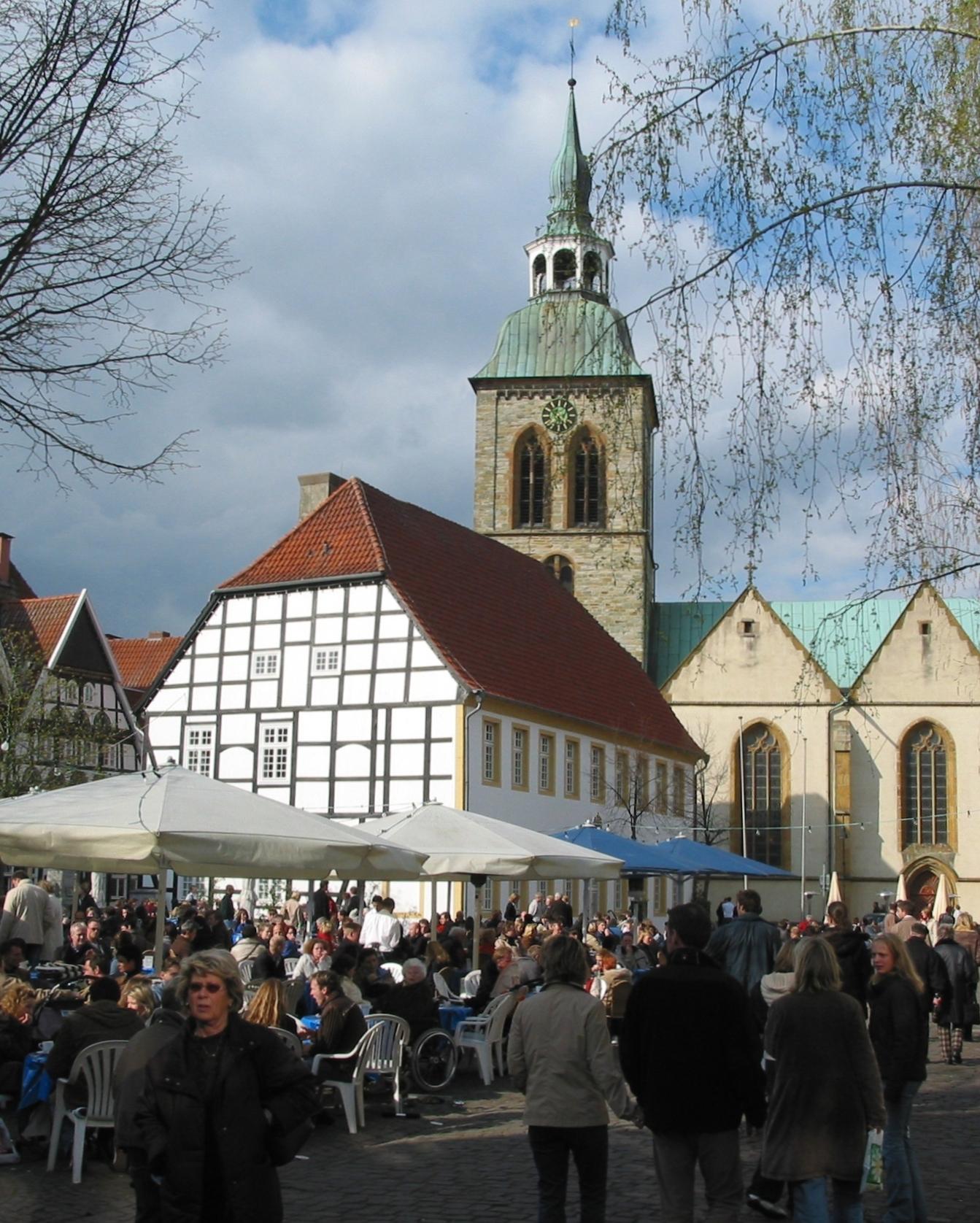 Marktplatz Wiedenbrück
