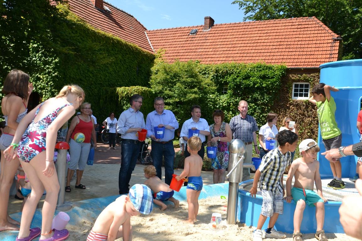 Wasserspielplatz Mittelhegge
