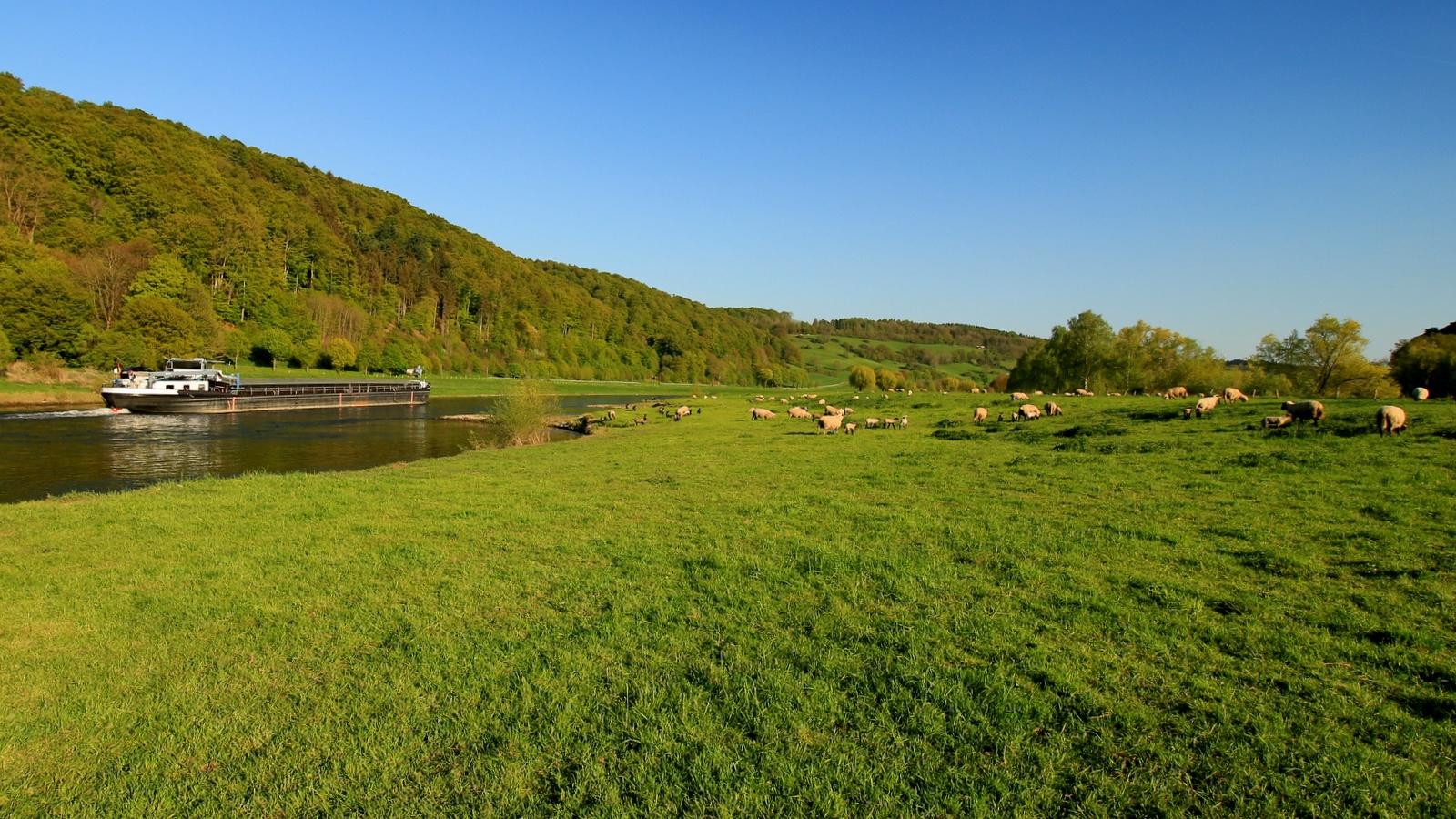 Wesertal bei Wehrden