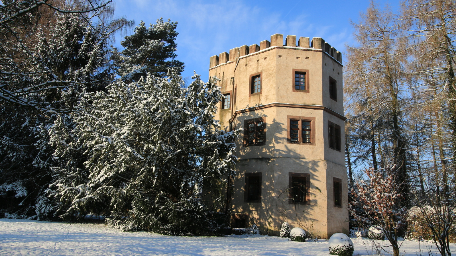 Droste-Turm Schloss Wehrden